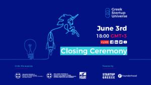 Greek Startup Universe Closing Ceremony